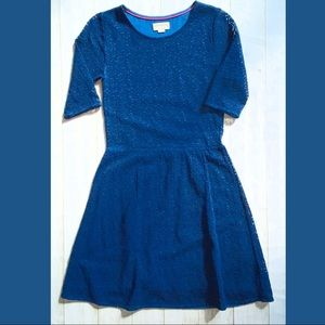 Boden brand johnnie b, navy lace dress 13/14